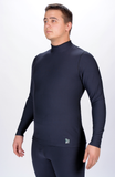 Top Long Sleeve Mock Turtleneck Men's