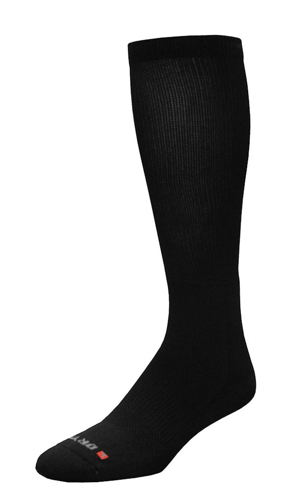 Sock Work Boot Over Calf - Black