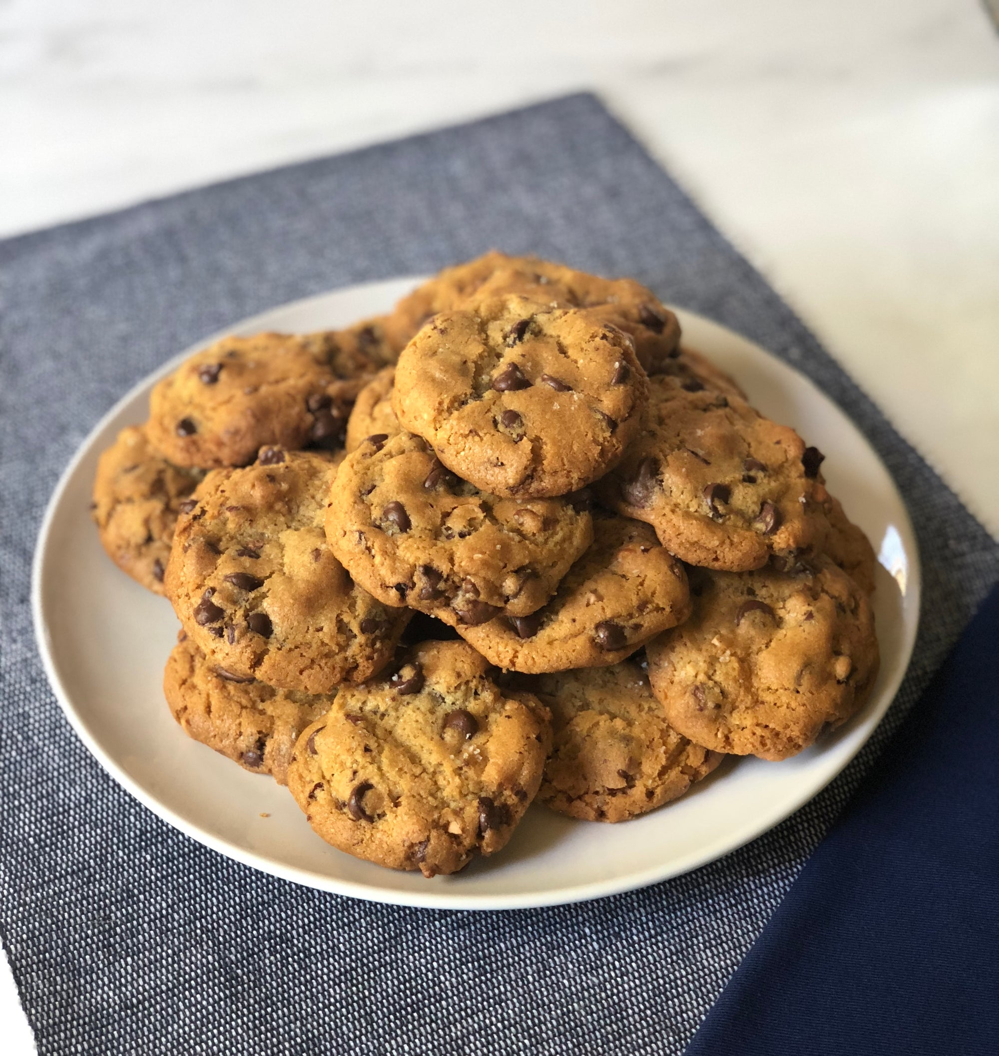 Ultimate Chocolate Chip Cashew Cookies