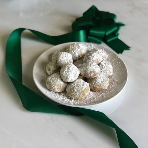 karma nuts wrapped cashews holiday snowball cookies recipe