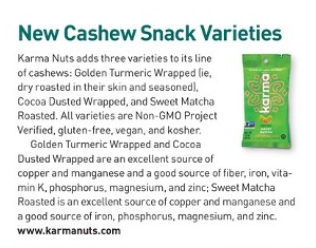 today's dietitian sweet matcha roasted cashews