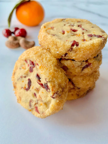 karma nuts cinnamon wrapped cashews satsuma shortbread cookies recipe
