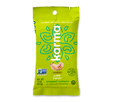 Lime Twist Wrapped® Cashews