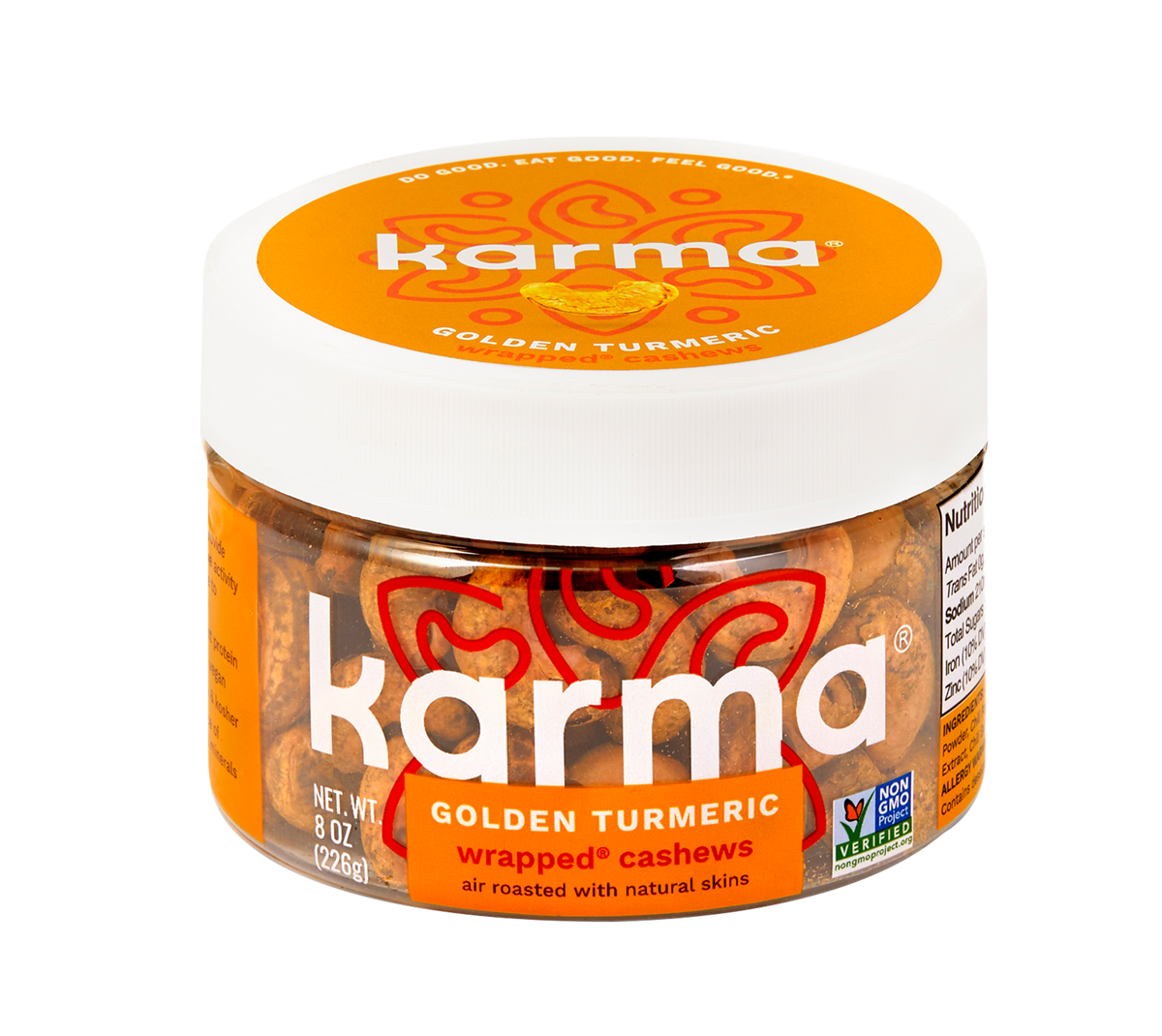 Golden Turmeric Wrapped® Cashews