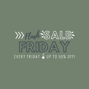 Flash Sale Friday! Every Friday up to 50% off at Big Cedar Creek Boutique