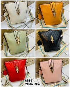 Trapezoid Bag Fashion Import