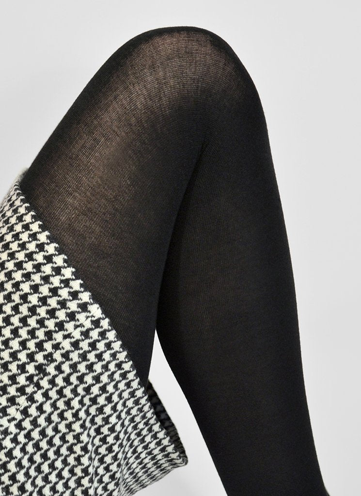 Swedish Stockings Alice Cashmere Tights in Black