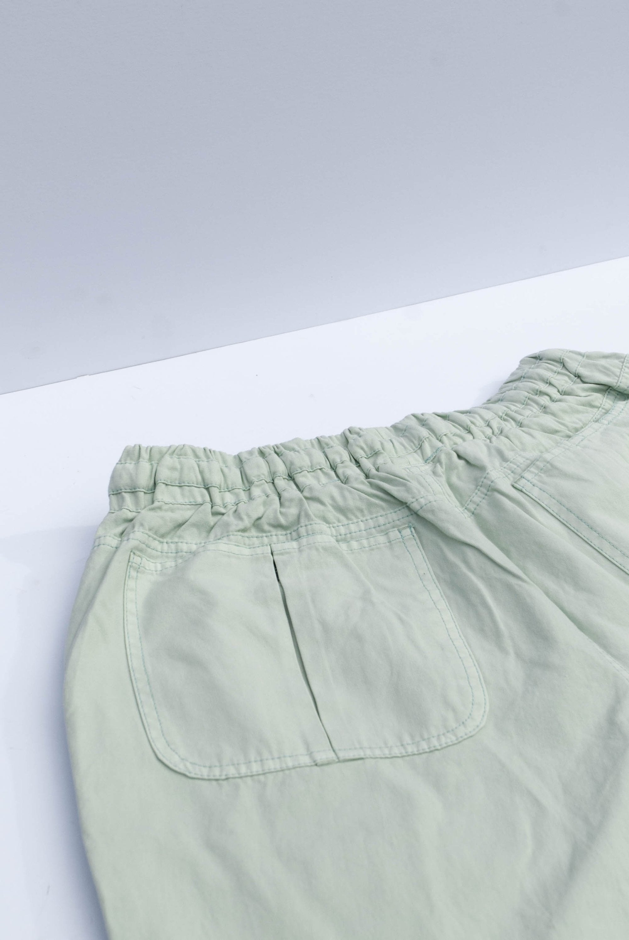 Komodo Unisex Danny Trousers in Mineral Green