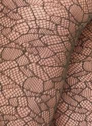 Edith Lace Tights in Dark Olive