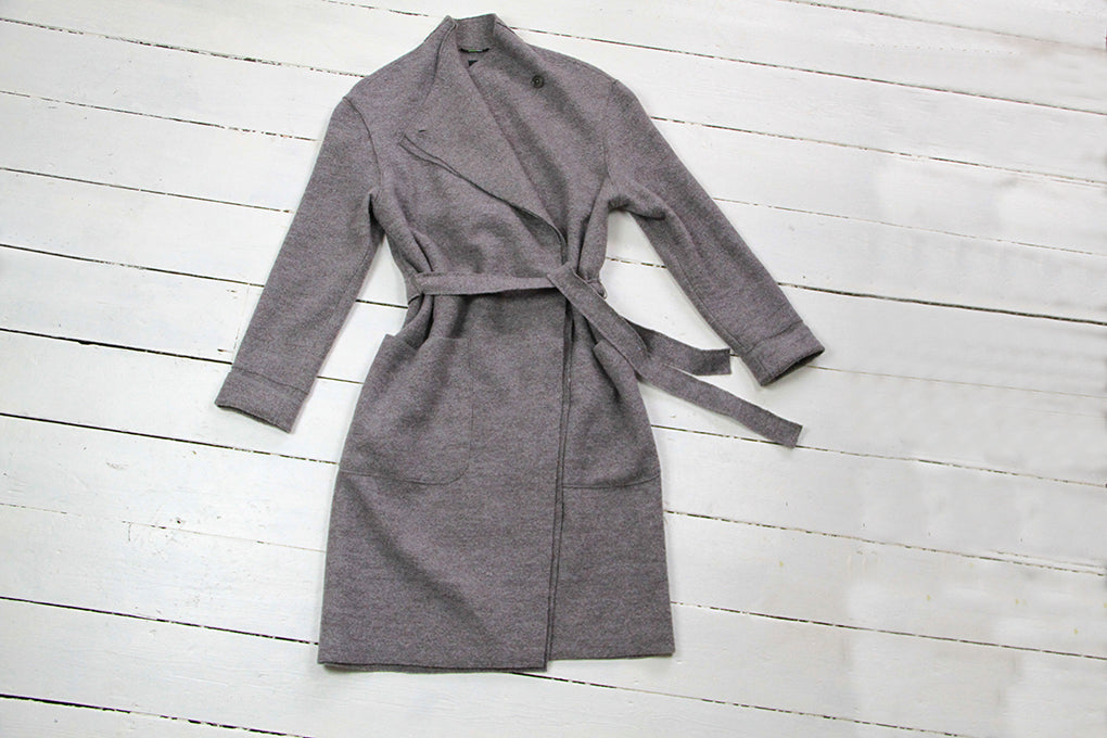 Langerchen Tallulah Coat in Grey