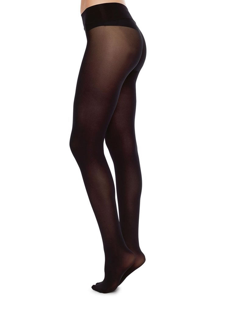 Swedish Stockings Hanna Premium Seamless Tights in Black