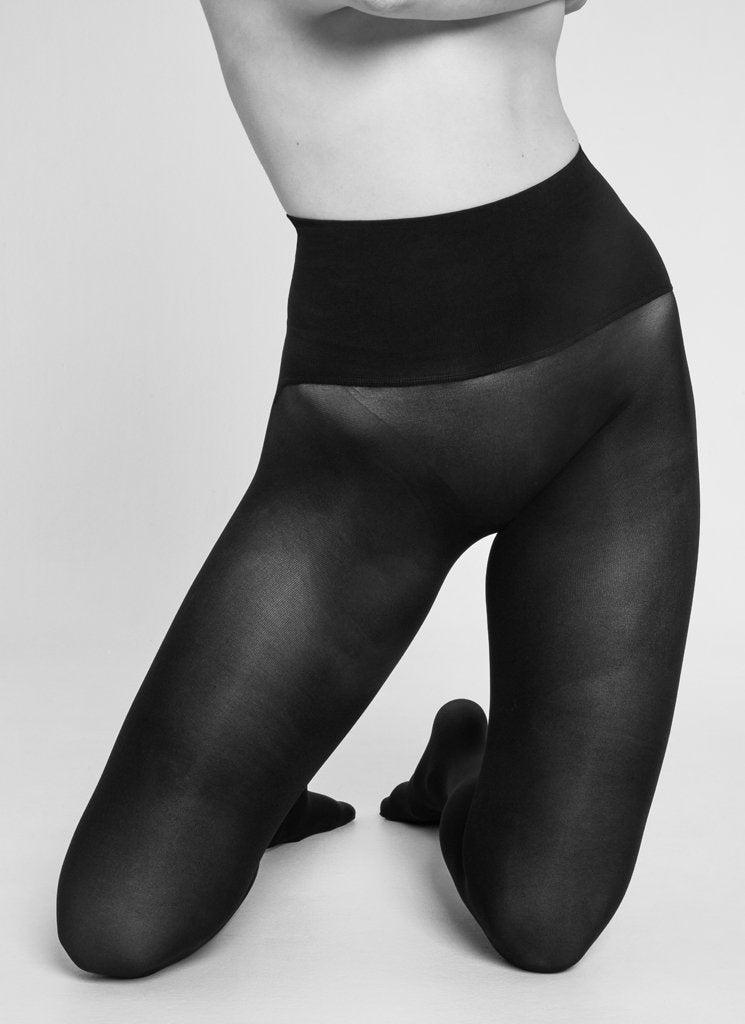 Hanna Premium Seamless Tights in Black