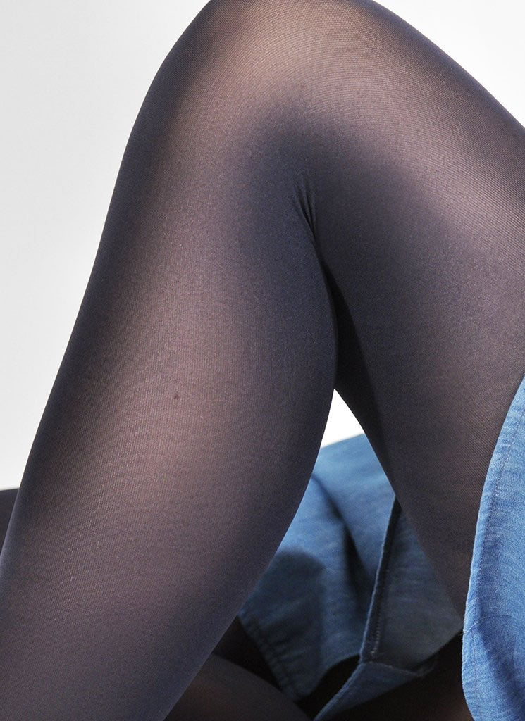 Olivia Tights in Navy