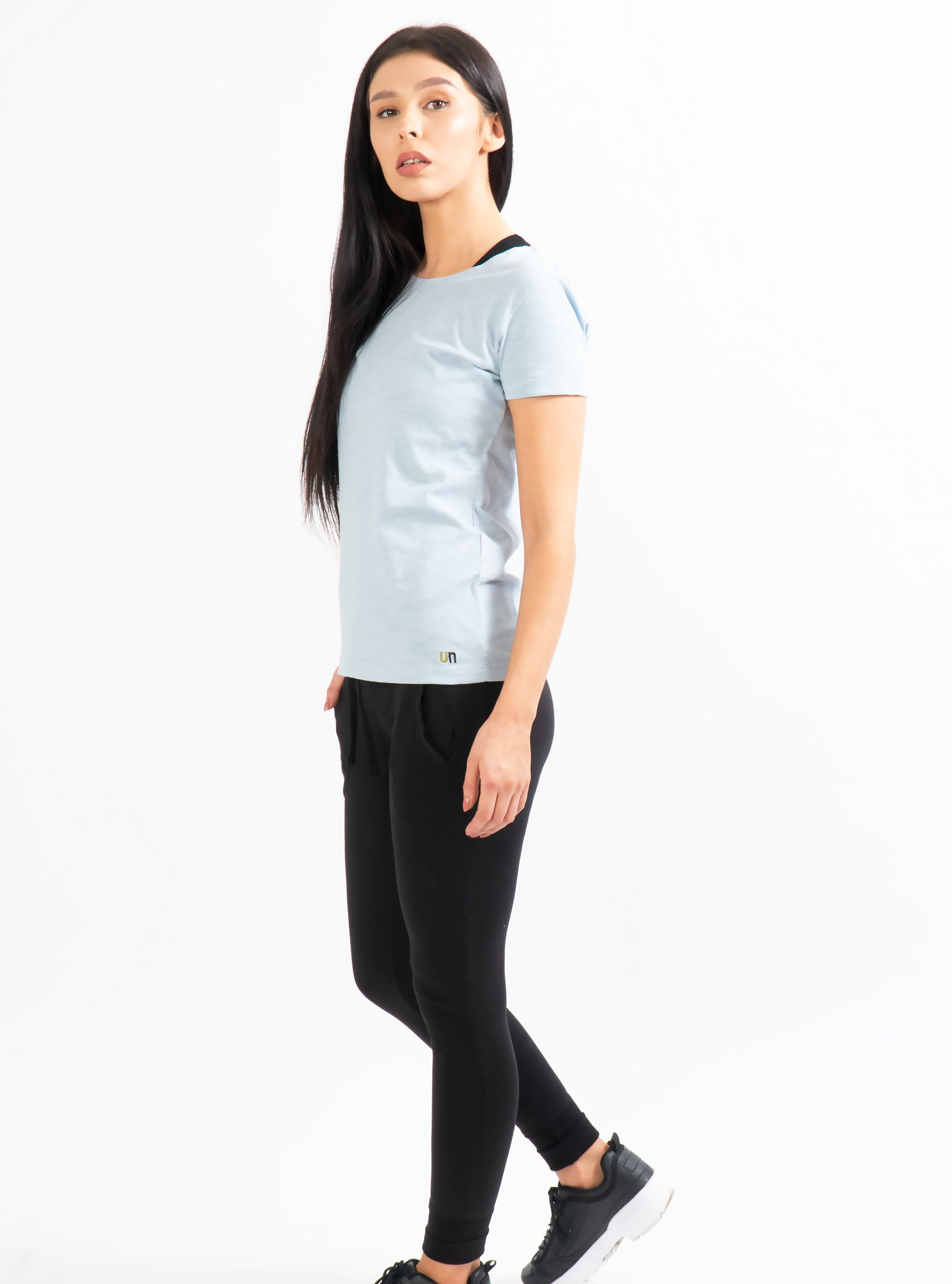 Powder Blue Alecta Slub T