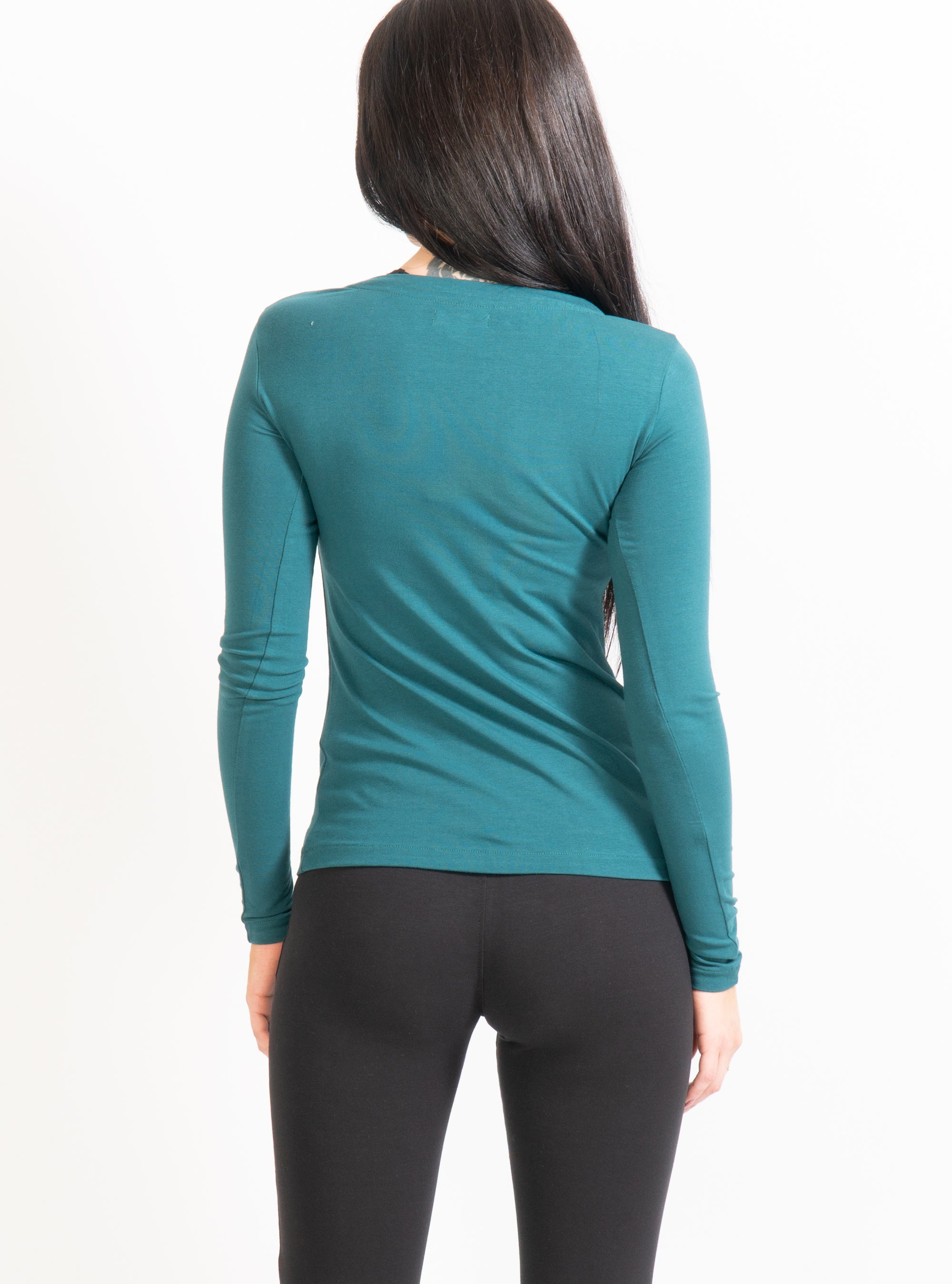 Unoa Teal Febe Long Sleeve T