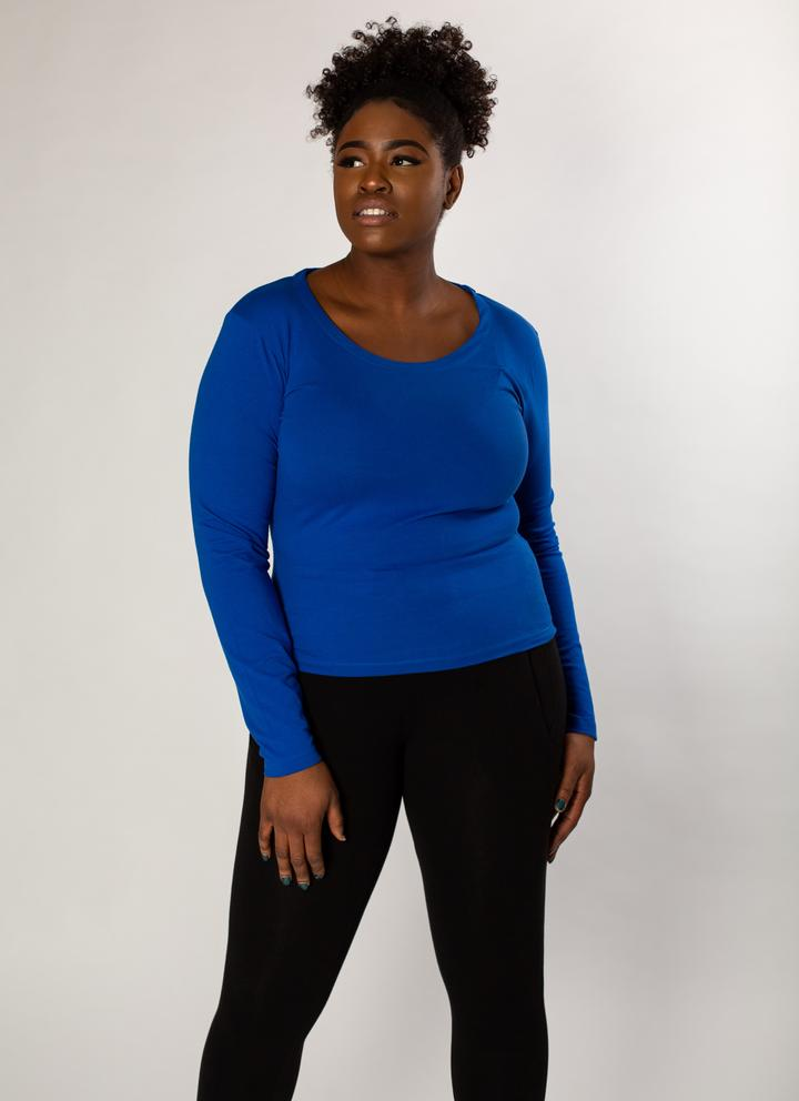 Unoa Ultramarine Febe Long Sleeve T