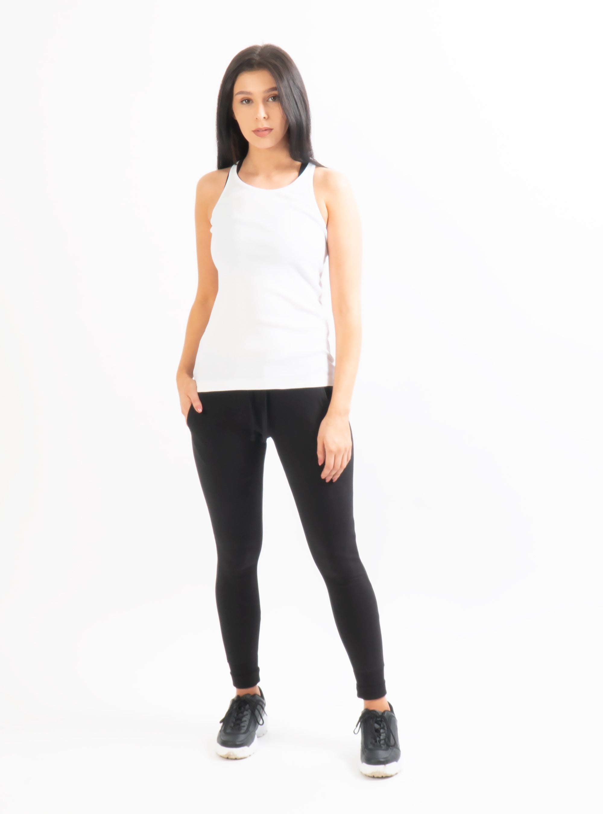 Unoa White Cassie Tank Top