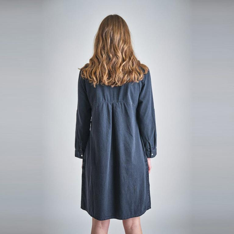 Bibico Alexa Black Denim Dress