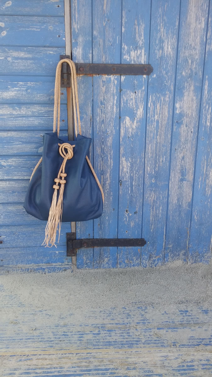 Bamba Bag in Indigo Blue