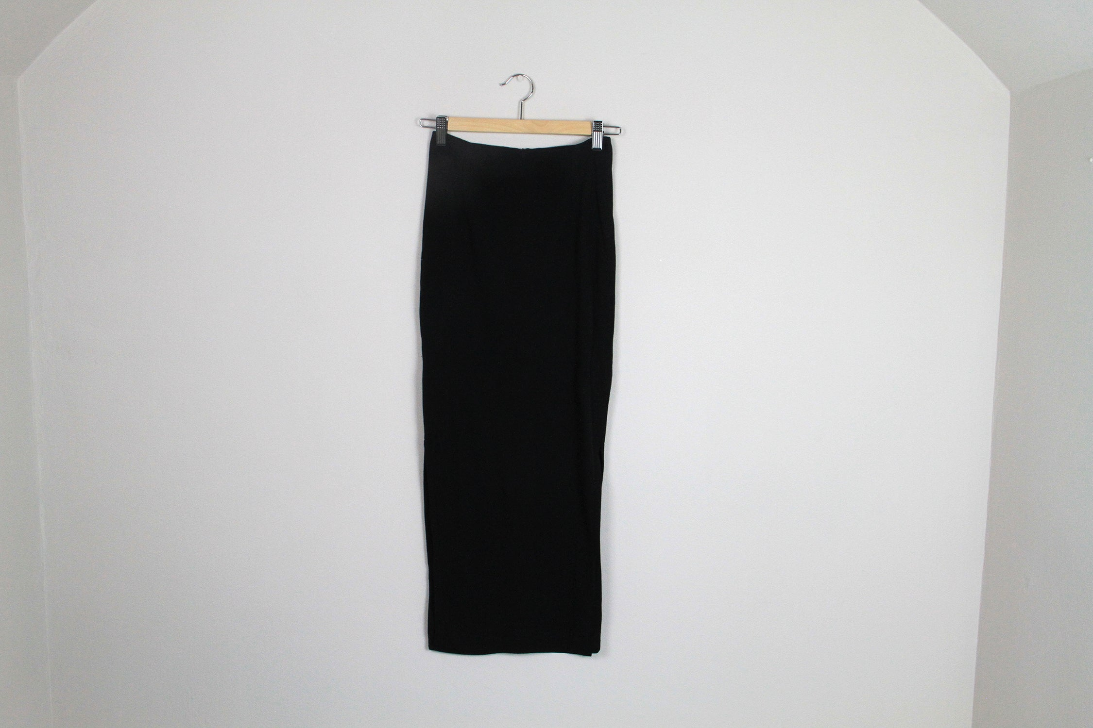 Cossac Black Midi Skirt