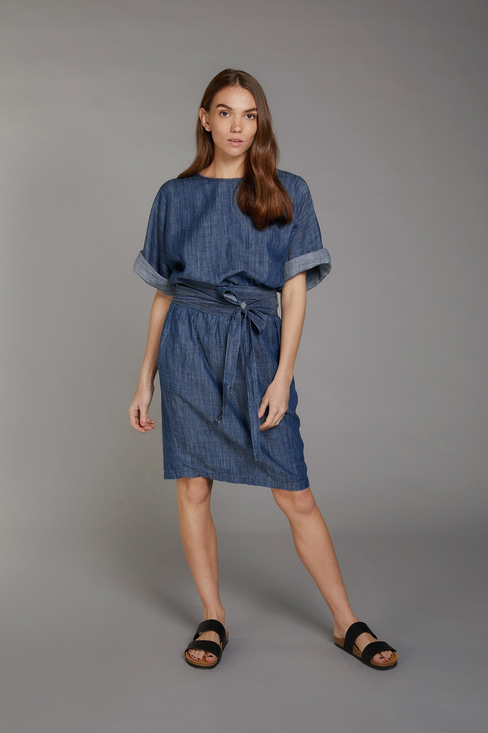 OBI ONE Tencel Linen Dress