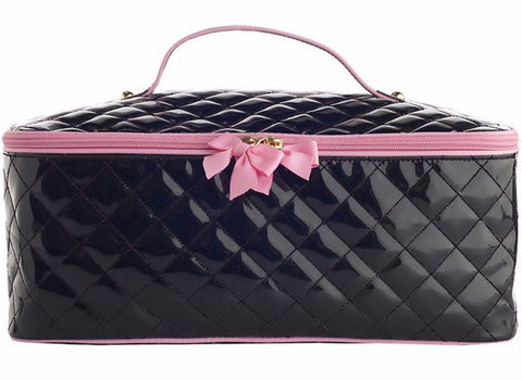 Quilted Train Cosmetic Case