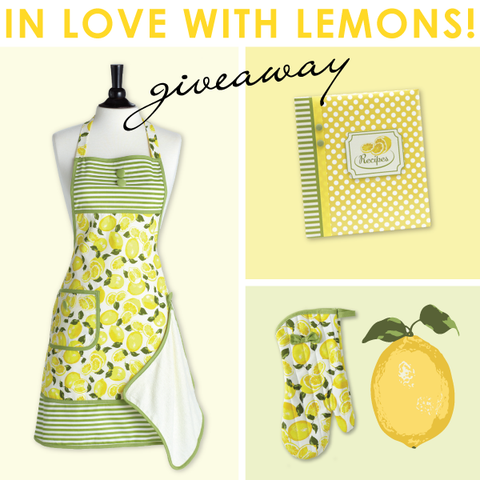Summer Lemons Apron Collection Giveaway