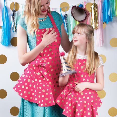 Jessie Steele Mommy & Me Apron Collection