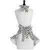 Cream and Black Polka Dot Josephine Apron
