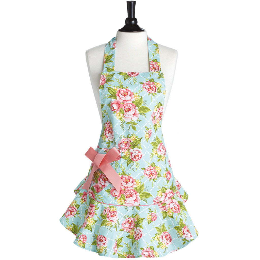Cottage Kitchen Rose Josephine Apron
