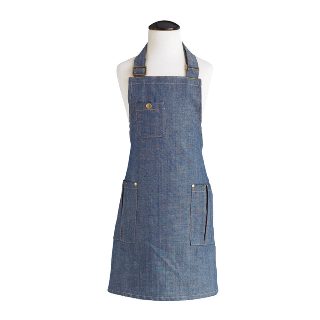 Dark Denim Child's Chef Apron
