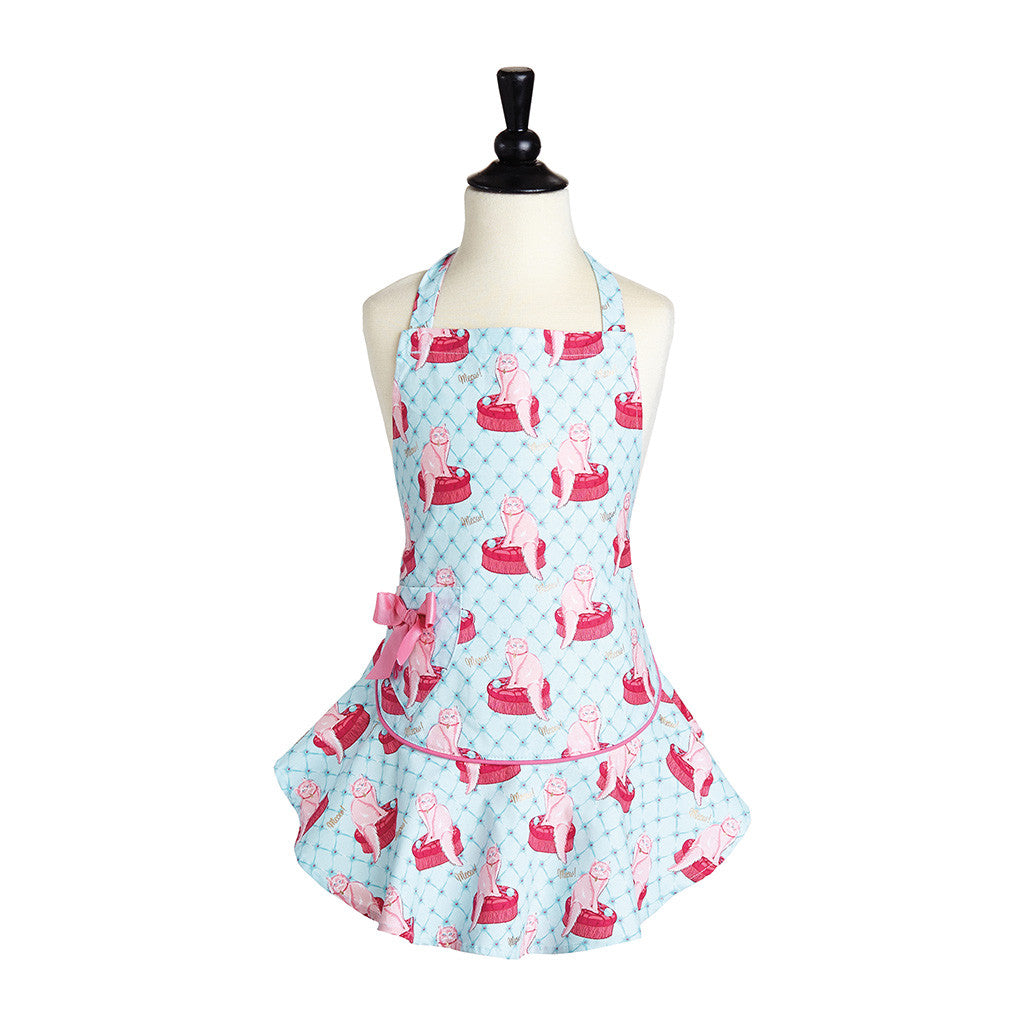 Pampered Kitty Child's Josephine Apron