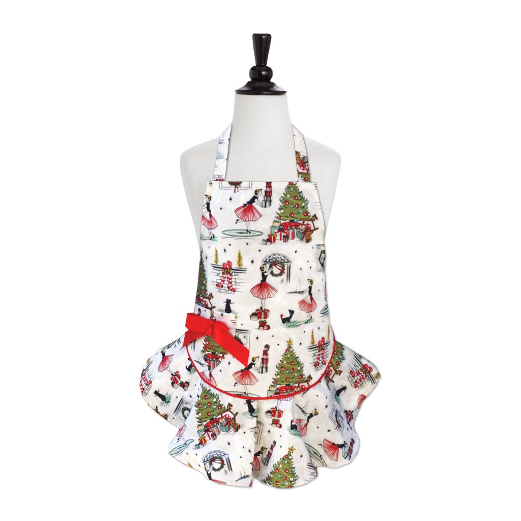 Nifty 50's Xmas Child's Josephine Apron