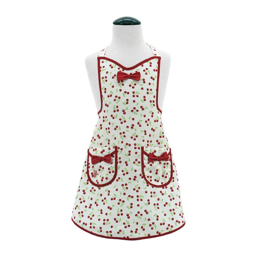 Retro Cherries Child's Audrey Apron
