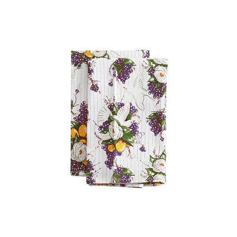 Delightful Doves Cloth Napkin Set
