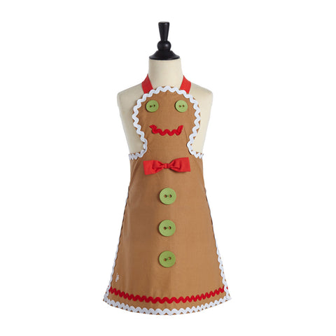 Child's Gingerbread Man Apron