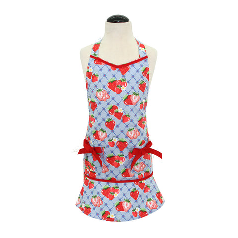 Child's Sweet Strawberry Lucille Apron