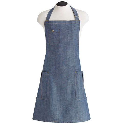 The BBQ Denim Apron