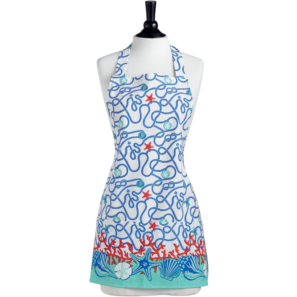 Nautical Border Greta Apron