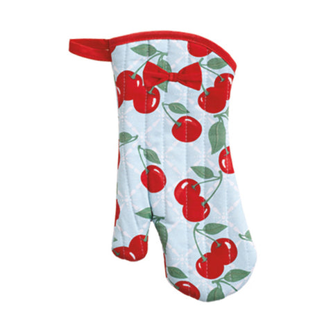 Kitchen Cherry Oven Mitt