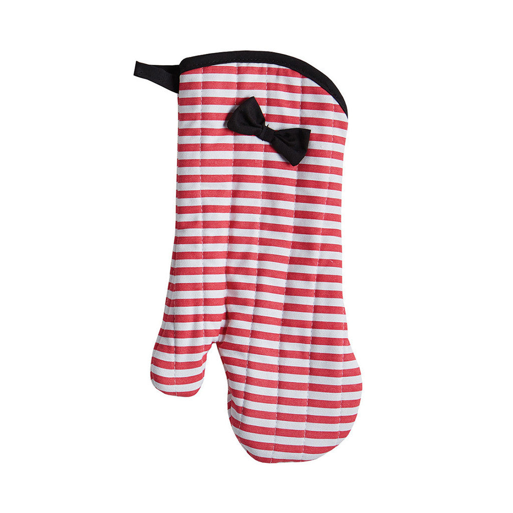 Watermelon Stripe Oven Mitt