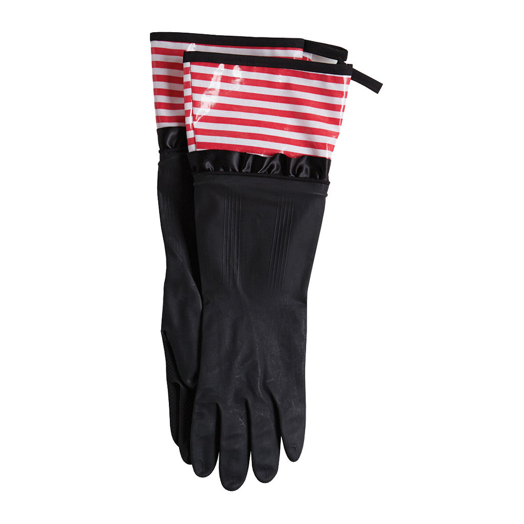 Watermelon Stripe Rubber Gloves