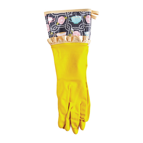 Teacups Rubber Gloves