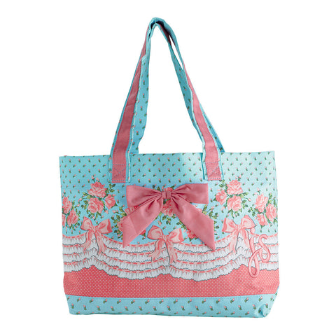 Bows and Roses Tote Bag
