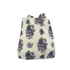 Vintage Floral Purple Tote Bag