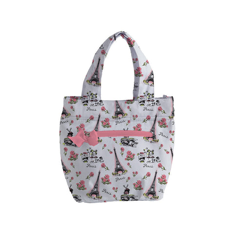 Parisian Toile Insulated Lunch Tote