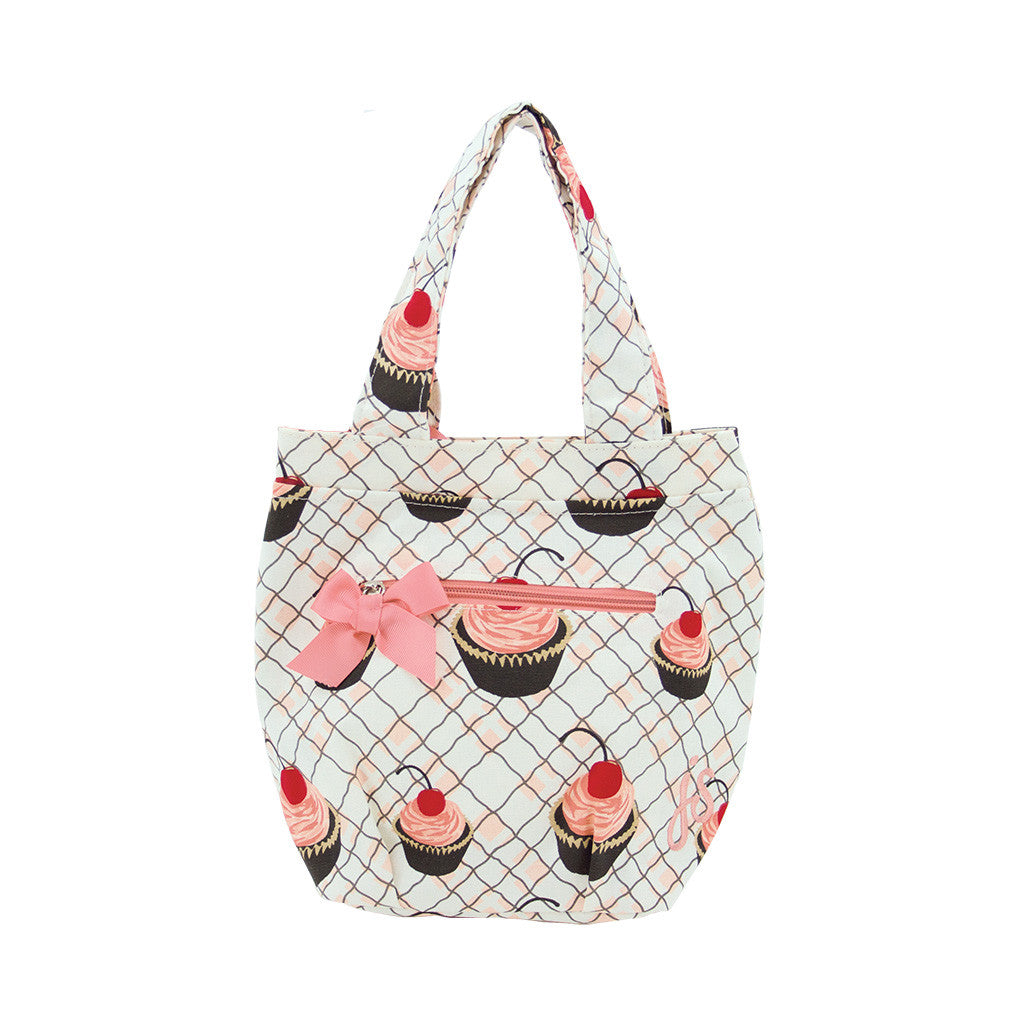 Cherry Cupcakes Insulated Travel Tote