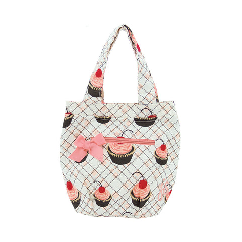 Cherry Cupcakes Insulated Lunch Tote