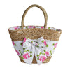 Jessie Steele Seagrass Market and Beach Bag