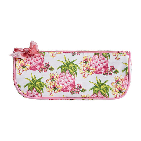 Pink Pineapples Brush Cosmetic Bag